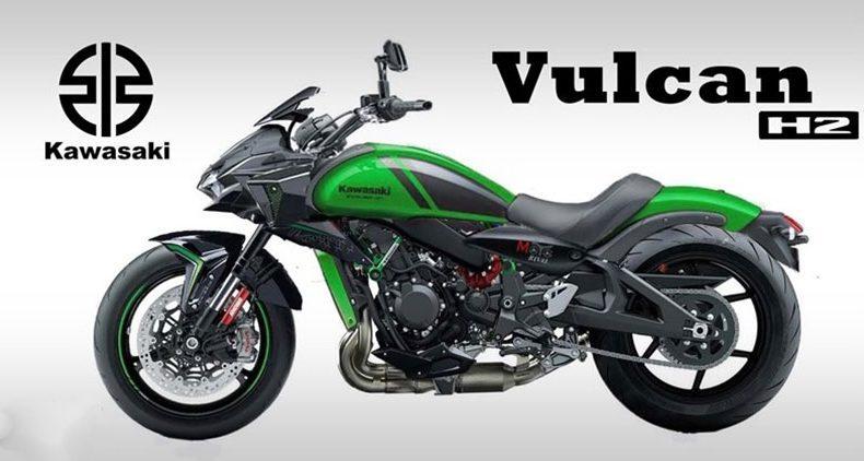 Rumores de una Kawasaki Vulcan H2 sobrealimentada