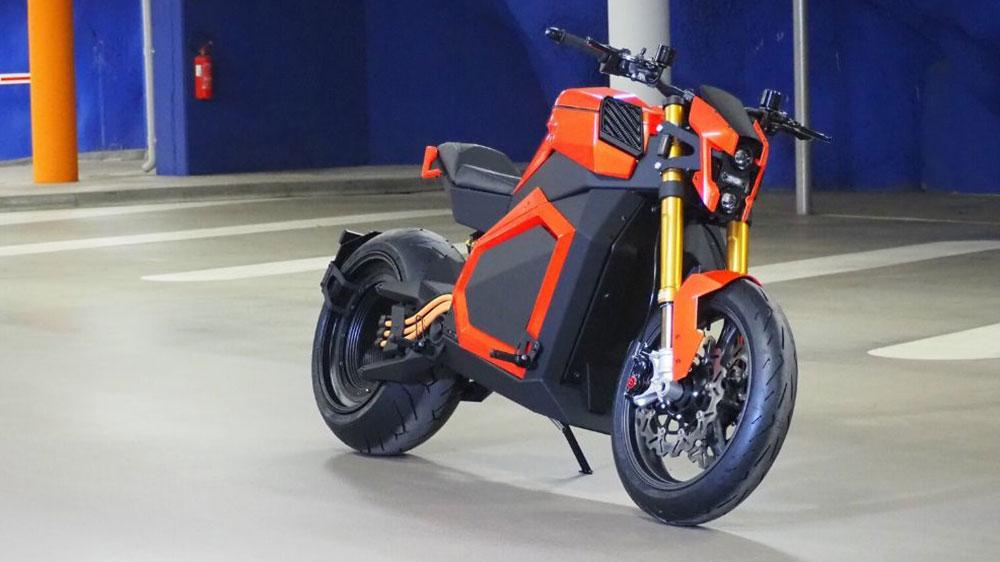 Una moto eléctrica con 1.000 Nm de Torque