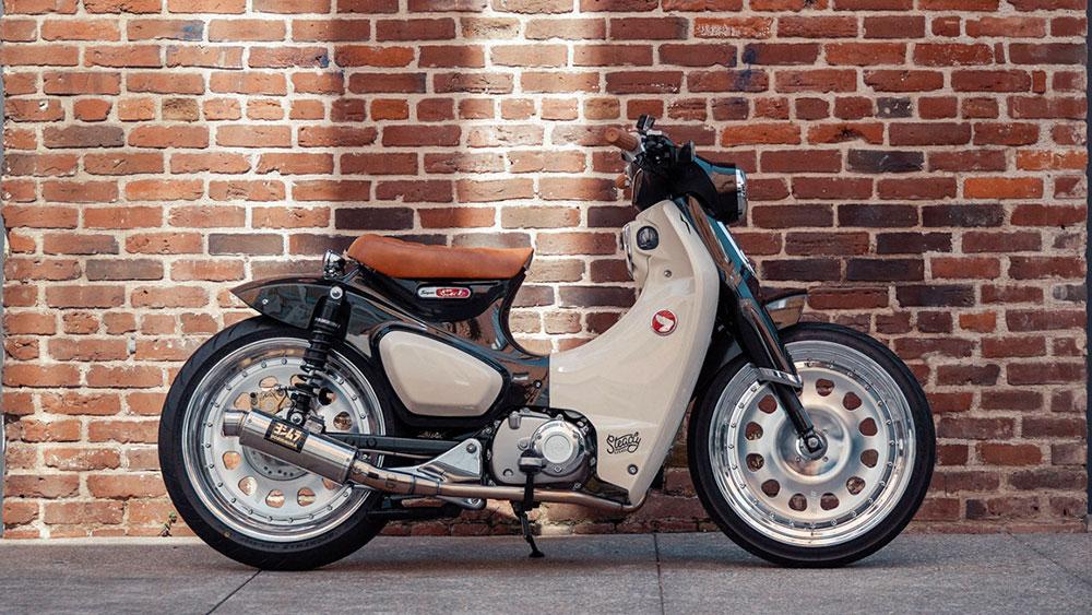 Honda C125 Super Cub customizada
