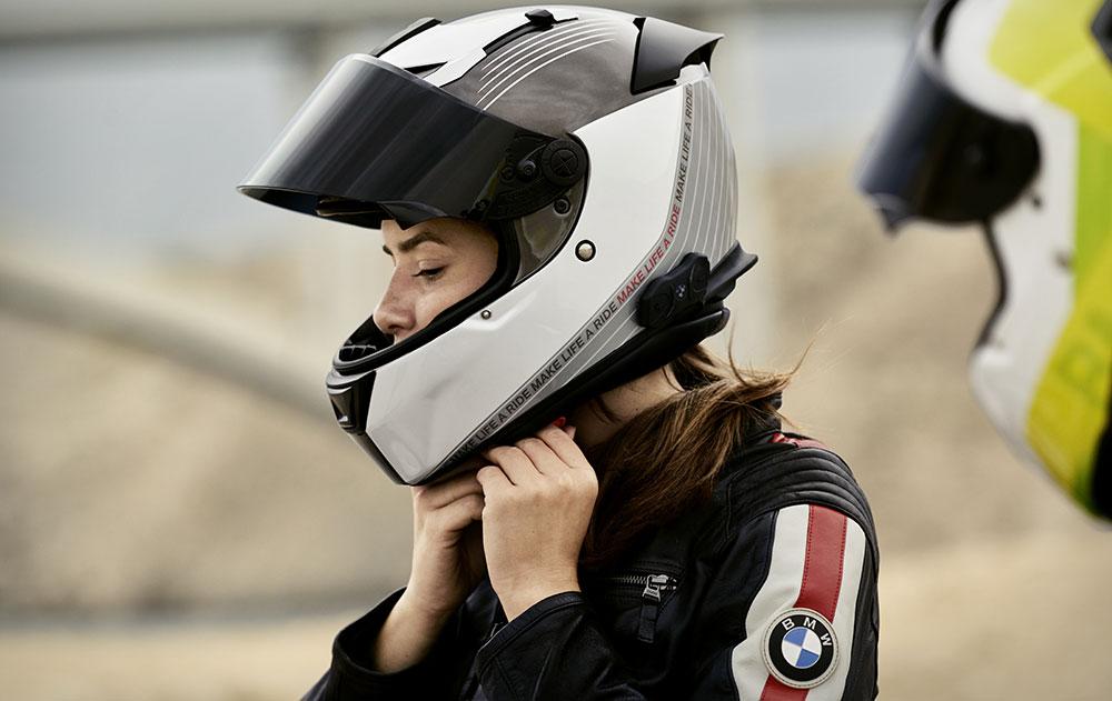 BMW Motorrad extiende a 5 años la garantía de todos sus cascos