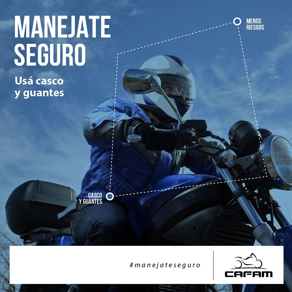 Movete en Moto, la nueva campaña de CAFAM