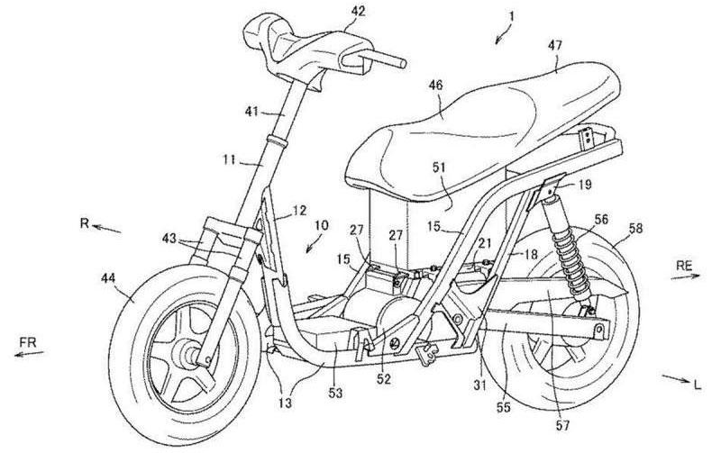 Suzuki trabaja en un scooter eléctrico de bajo costo