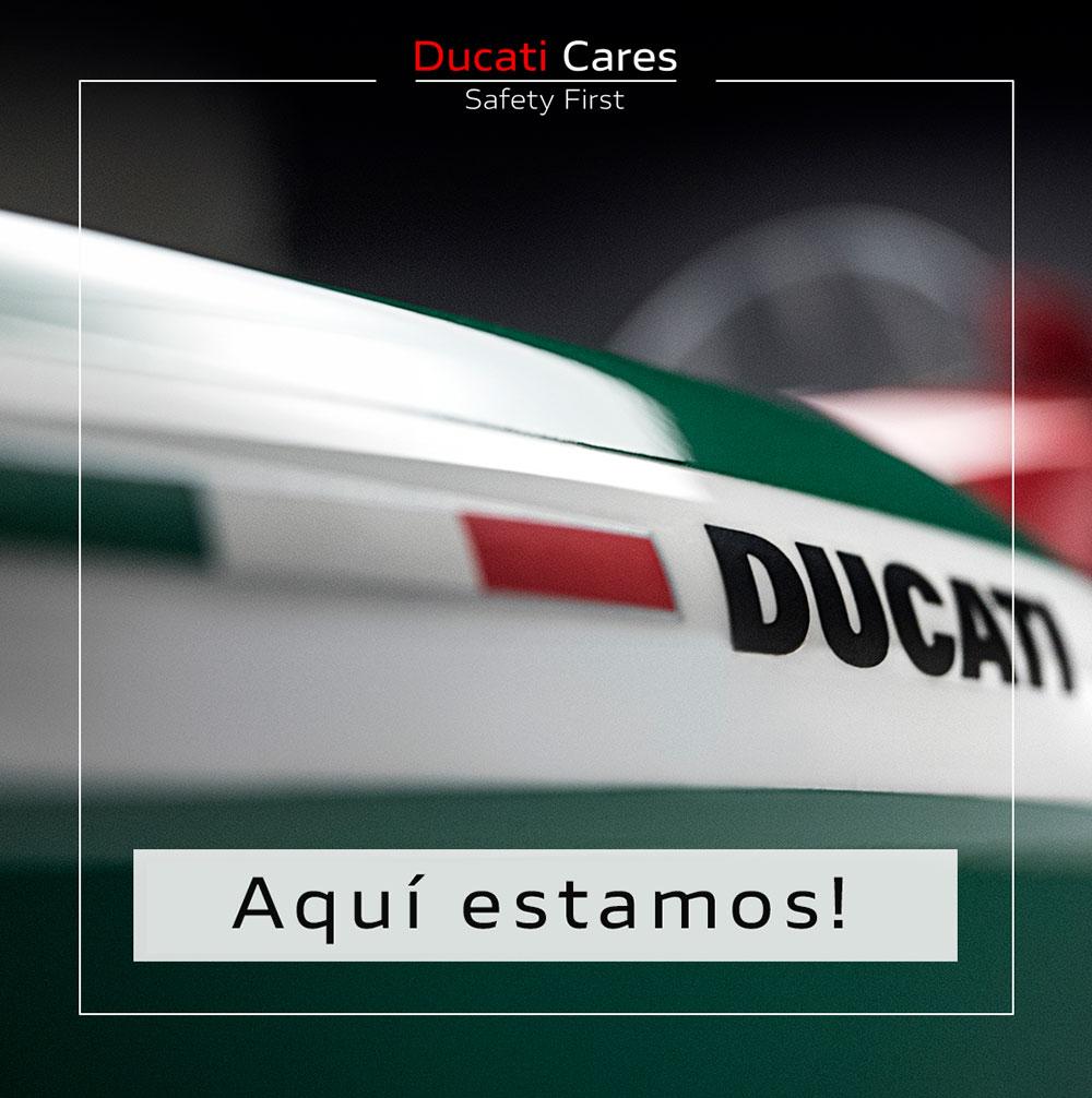 Ducati reanuda su actividad en Argentina