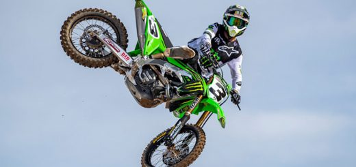 Kawasaki en el podio del Supercross World Championship 2020