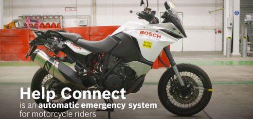 Llamada de emergencia eCall de Bosch para motos