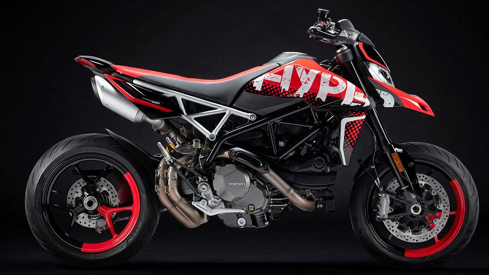 Ducati presenta la nueva Hypermotard 950 RVE