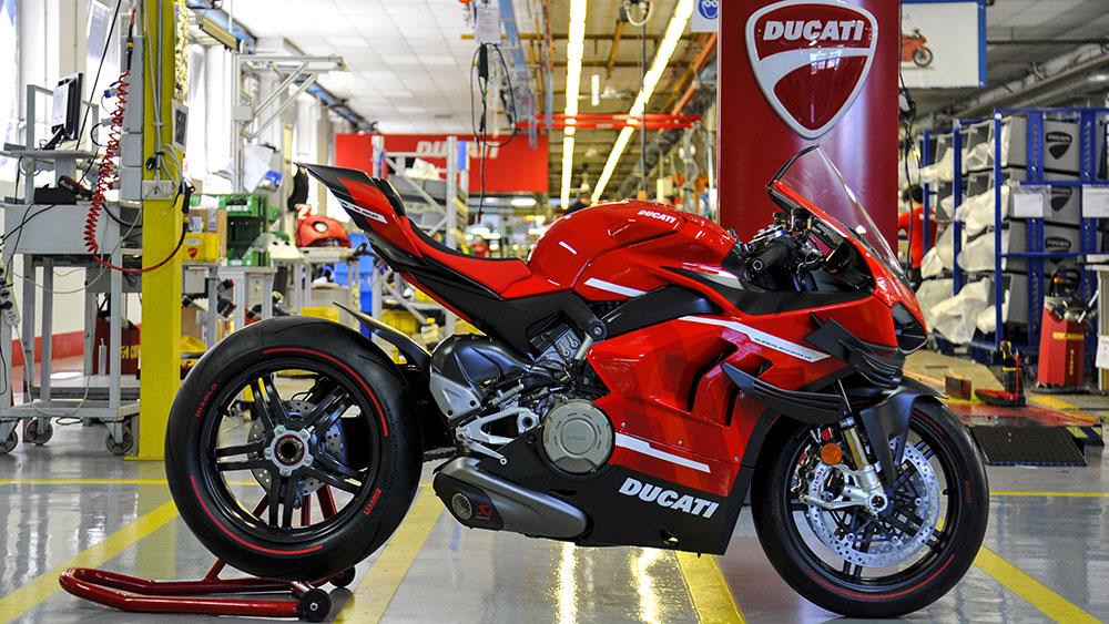 Así se fabrica la Ducati Superleggera V4 Edición Limitada