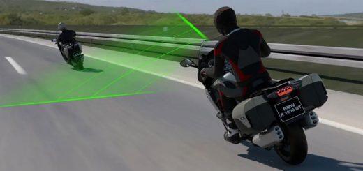 BMW Motorrad lanzará un sistema de control de crucero guiado por radar