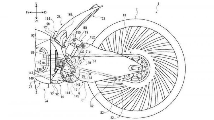 Suzuki patenta el diseño de una moto híbrida