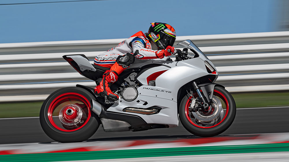 Nuevo color blanco para la Ducati Panigale V2