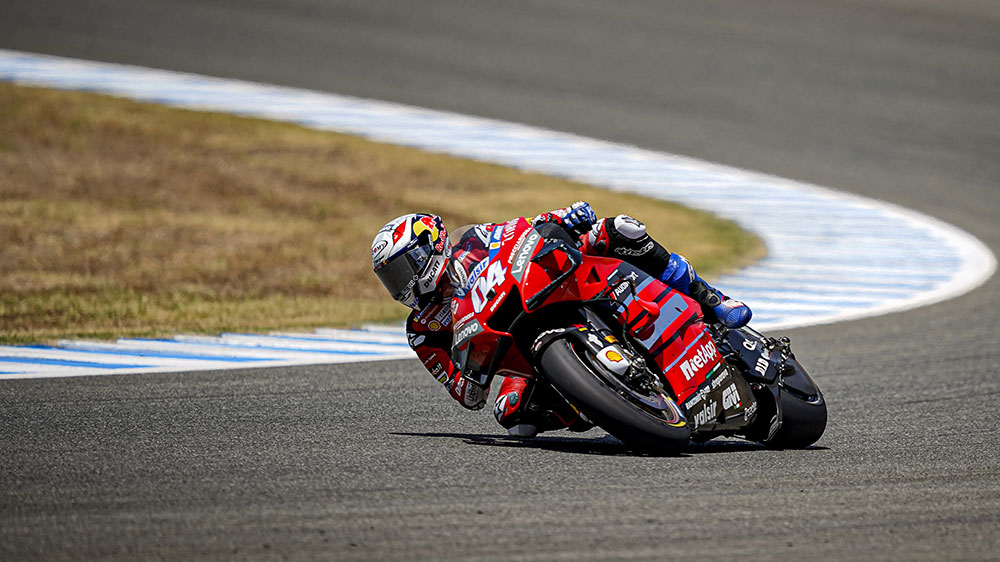Podio para Ducati en la vuelta del MotoGP