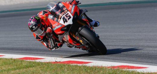 Ducati en el podio del Superbike en Jerez de la Frontera