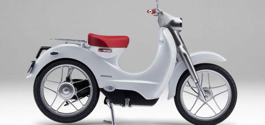 Honda registró el diseño de una Super Cub eléctrica