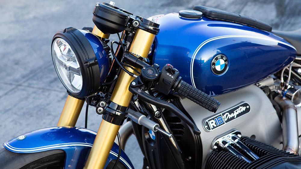 BMW R 18 Dragster con el exclusivo toque de Roland Sands