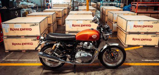 Con la presencia del Presidente de la Nación, el Grupo Simpa anunció que comenzará a producir motos Royal Enfield en la Argentina