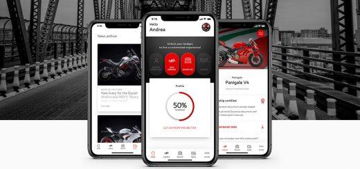 Nueva app MyDucati, para tener el mundo Ducati siempre a mano