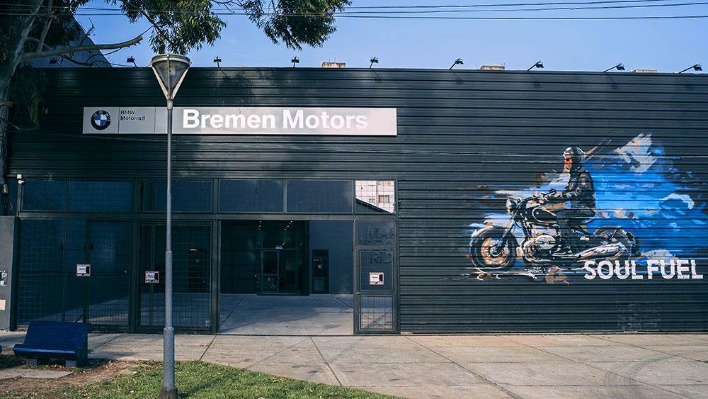 Nuevo concesionario BMW Motorrad en el centro de la Ciudad de Buenos Aires