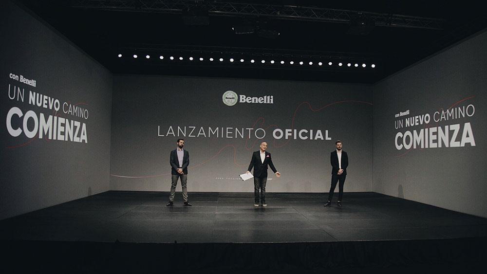 Lanzamiento oficial de la Benelli Leoncino 250