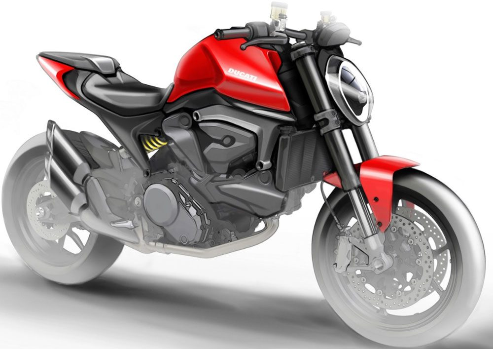 Así sería la nueva Ducati Monster 821
