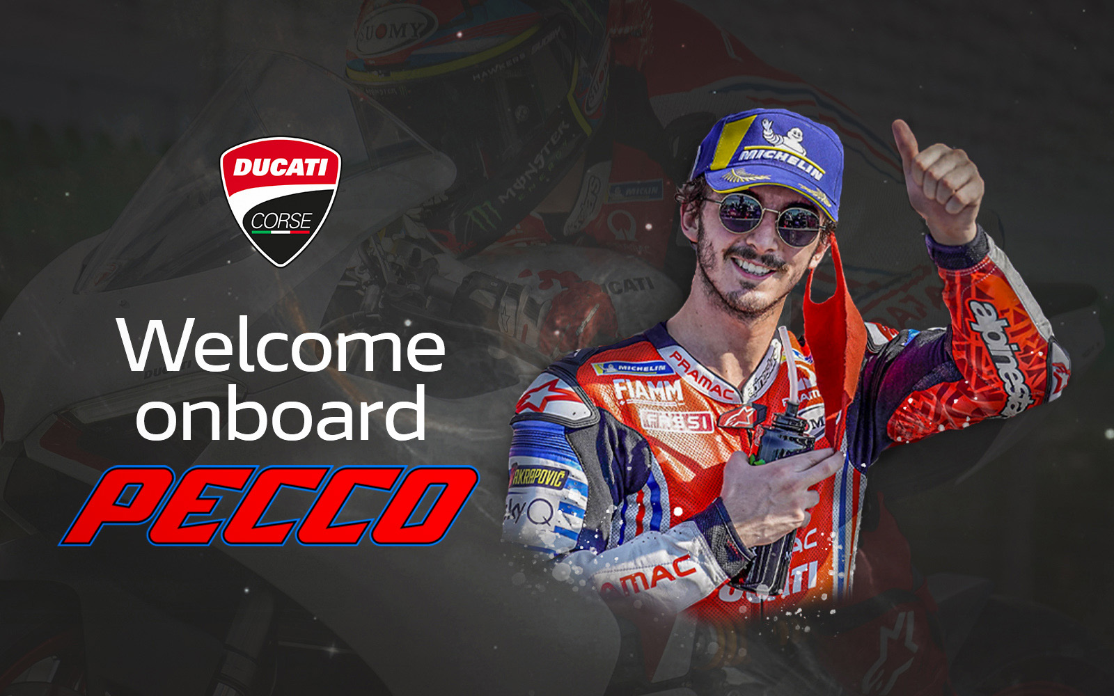 MotoGP: Ducati anunció sus pilotos oficiales para la temporada 2021