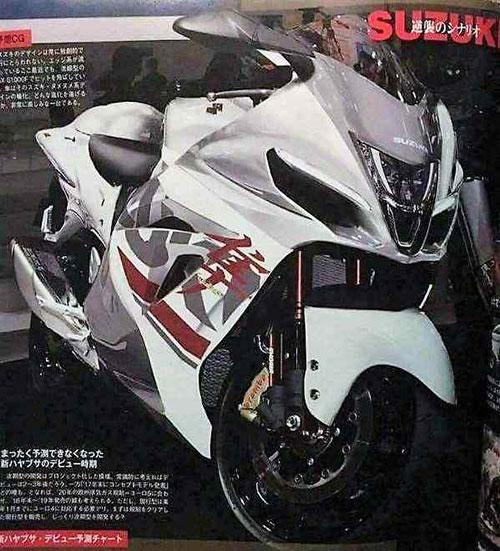 Otra vez rumores sobre una nueva Suzuki Hayabusa 2021