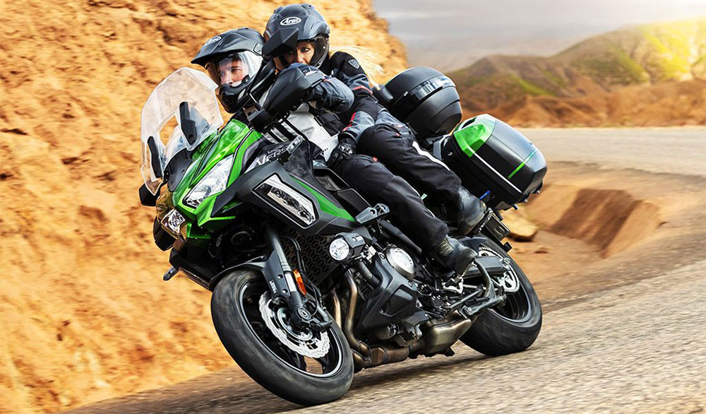Kawasaki presentó en Europa la nueva Versys 1000 S