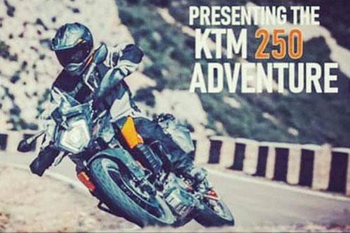 KTM ya tiene su 250 Adventure