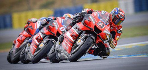MotoGP: primera victoria de Ducati en Le Mans