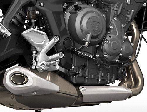 Triumph presentó la nueva Trident 660