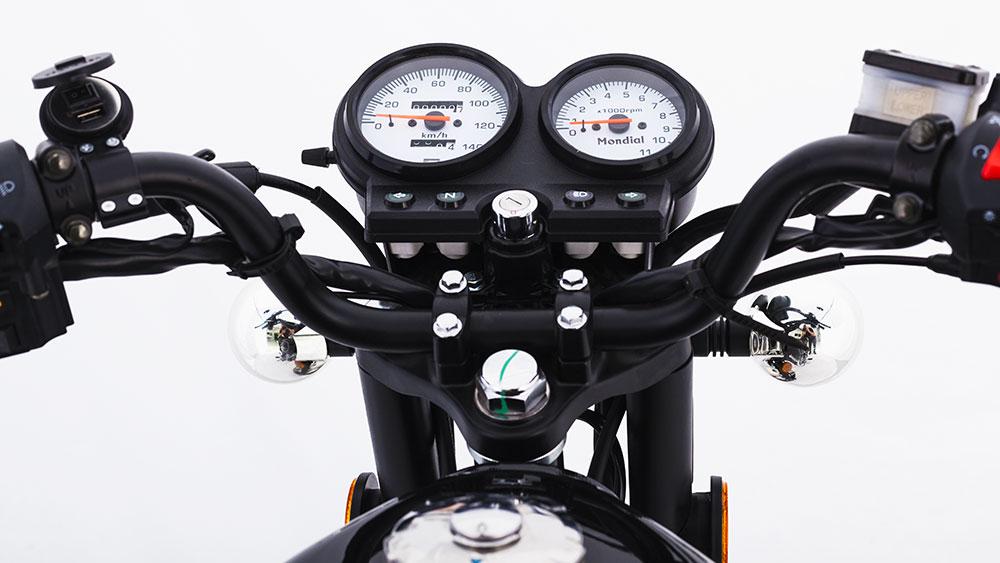 Lanzamiento nueva Mondial RD150 Classic