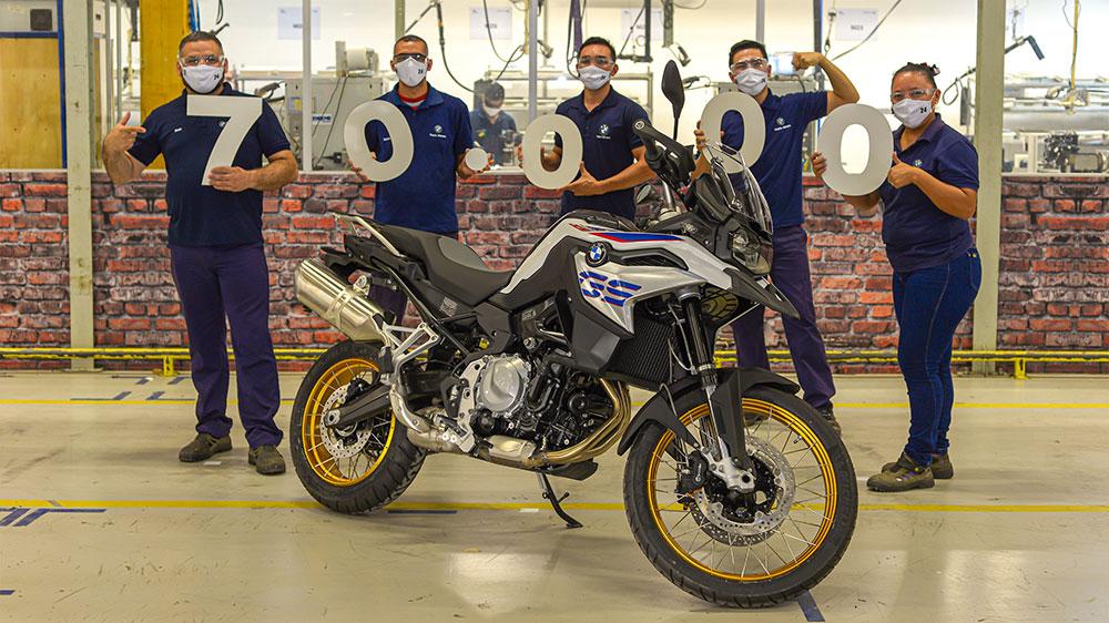 BMW Motorrad de Brasil alcanzó las 70.000 unidades fabricadas