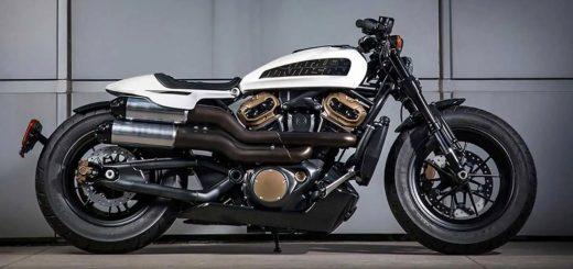 Harley-Davidson confirmó la llegada de una Custom 1250 para el 2021