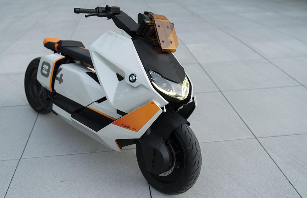 Nuevo scooter eléctrico de BMW, el Definition CE 04