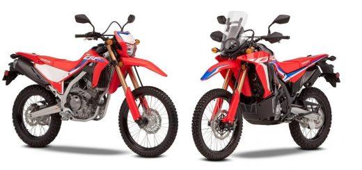 Nuevas Honda CRF300L y CRF300 Rally