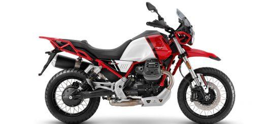 Actualización para la Moto Guzzi V85 TT 2021